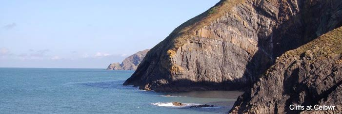Ceibwr Bay in Pembrokeshire