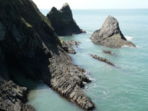 Ceibwr Bay Rocks